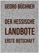 Georg Büchner: Der Hessische Landbote