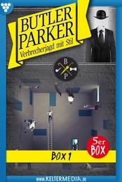 Butler Parker 5er Box 1 – Kriminalroman - E-Book 1-5