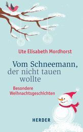 Vom Schneemann, der nicht tauen wollte - Besondere Weihnachtsgeschichten