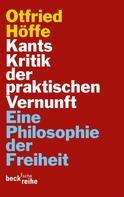 Otfried Höffe: Kants Kritik der praktischen Vernunft ★★★★★