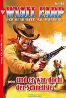 William Mark: Wyatt Earp 181 – Western