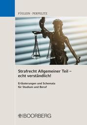 Strafrecht Allgemeiner Teil - echt verständlich! - Erläuterungen und Schemata für Studium und Beruf