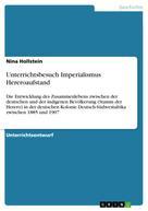Nina Hollstein: Unterrichtsbesuch Imperialismus Hereroaufstand