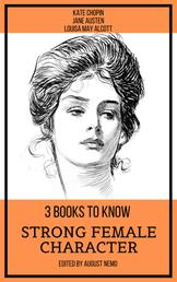 3 books to know Strong Female Character