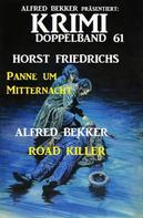Alfred Bekker: Krimi Doppelband 61