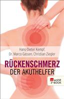 Hans-Dieter Kempf: Rückenschmerz: Der Akuthelfer ★★★★