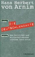 Hans Herbert von Arnim: Die Deutschlandakte
