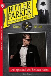 Butler Parker Classic 54 – Kriminalroman - Das Spiel mit dem kleinen Hasen
