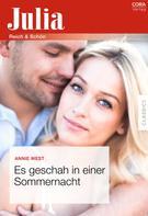 Annie West: Es geschah in einer Sommernacht ★★★★