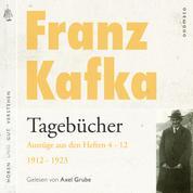 Franz Kafka − Tagebücher - Auszüge aus den Tagebüchern Heft 5−12 von 1912−1923. Eine Textauswahl mit kurzen Klang- und Musiksequenzen.