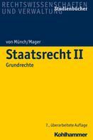 Ingo von Münch: Staatsrecht II