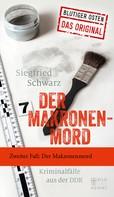 Siegfried Schwarz: Der Makronenmord ★★★★