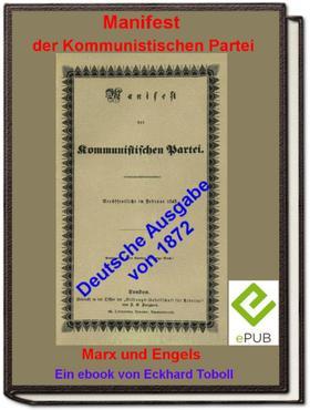 """""""Manifest der Kommunistischen Partei"""" (deutsche Ausgabe 1872)"""