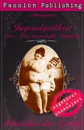 Klassiker der Erotik 38: Jugendgeilheit - oder: Der lasterhafte Jüngling - ungekürzt und unzensiert