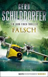 Falsch - Ein John-Finch-Thriller