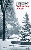 Georges Simenon: Weihnachten in Paris