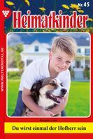 Loni Bergner: Heimatkinder 45 – Heimatroman ★★★★★
