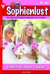Sophienlust 262 – Familienroman - Endlich ein neues Zuhause