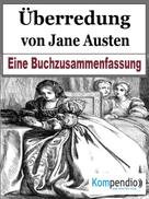 Robert Sasse: Überredung von Jane Austen ★★★★★