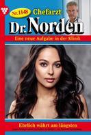 Patricia Vandenberg: Chefarzt Dr. Norden 1148 – Arztroman