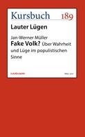 Jan-Werner Müller: Fake Volk?