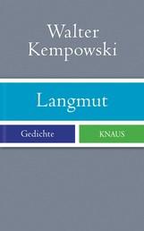 Langmut - Gedichte