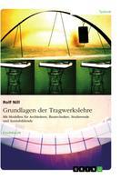 Rolf Nill: Grundlagen der Tragwerkslehre. Mit Modellen für Architekten, Bautechniker, Studierende und Auszubildende