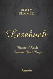 Das Holly Summer Lesebuch - Sneak Peeks in die Boston Bad Boys und die Master-Reihe