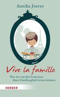 Annika Joeres: Vive la famille ★★★★