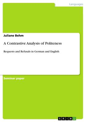 A Contrastive Analysis of Politeness