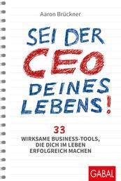Sei der CEO deines Lebens! - 33 wirksame Business-Tools, die dich im Leben erfolgreich machen