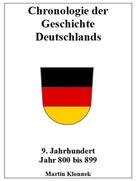 Martin Klonnek: Chronologie Deutschlands 9