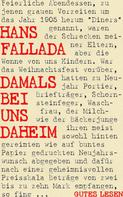 Hans Fallada: Damals bei uns daheim