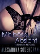 Alexandra Södergran: Mit böser Absicht - Erotische Novelle ★★★
