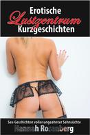 Hannah Rosenberg: Erotische Sex-Kurzgeschichten - Im Lustzentrum