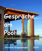 Gespräche am Pool