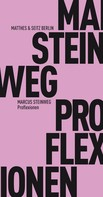 Marcus Steinweg: Proflexionen