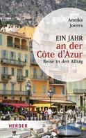 Annika Joeres: Ein Jahr an der Côte d'Azur ★★★★