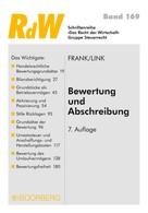 Manfred Frank: Bewertung und Abschreibung