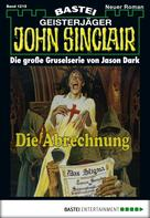 Jason Dark: John Sinclair - Folge 1219