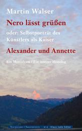 Nero lässt grüssen - Alexander und Annette