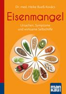 Heike Bueß-Kovács: Eisenmangel. Kompakt-Ratgeber ★★★★