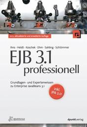 EJB 3.1 professionell (iX Edition) - Grundlagen- und Expertenwissen zu Enterprise JavaBeans 3.1 - inkl. JPA 2.0