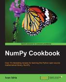 Ivan Idris: NumPy Cookbook ★★