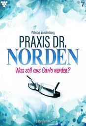 Praxis Dr. Norden 7 – Arztroman - Was soll aus Carlo werden?