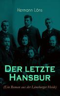 Hermann Löns: Der letzte Hansbur