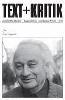 Martin Rehfeldt: TEXT+KRITIK 206 - Ernst Augustin ★★★