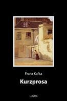 Franz Kafka: Kurzprosa
