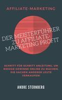 André Sternberg: Der Meisterführer zu Affiliate-Marketing Profit