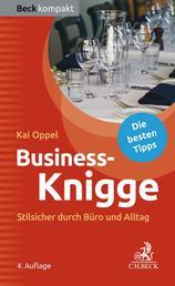 Business-Knigge - Stilsicher durch Büro und Alltag